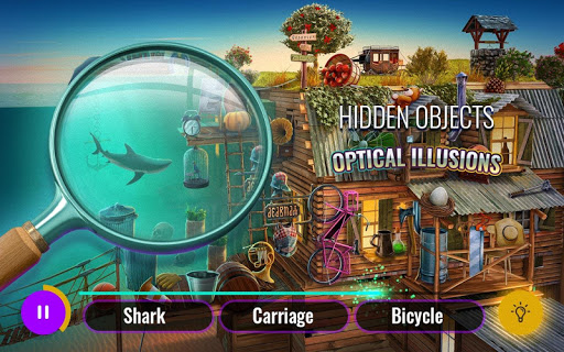 Optical Illusions Hidden Objects Game 3.01 screenshots 1