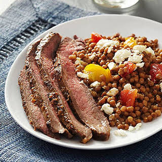 Mediterranean Couscous and Beef.