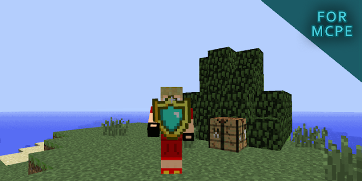 shield mod for minecraft pe