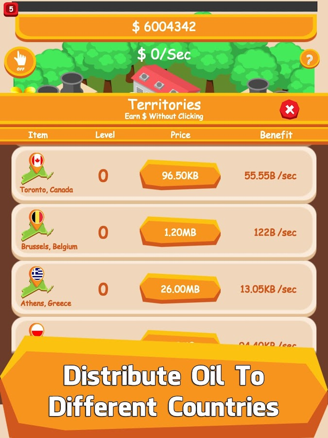 Oil Tycoon - Idle Clicker Game- screenshot