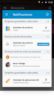 LinkedIn Job Search: miniatura de captura de pantalla