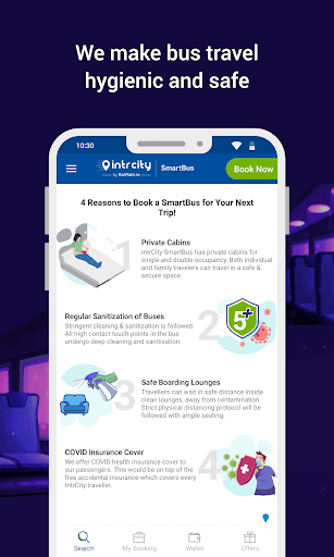 IntrCity SmartBus App: Book Intercity Bus Tickets ss2