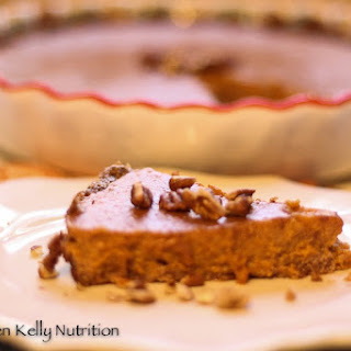 Gluten-Free Pumpkin Pie with Pecan Crust