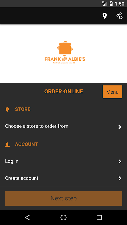 Frank and Albie's- screenshot