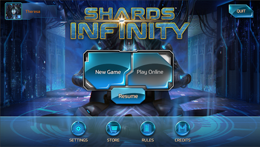 Screenshot for Shards of Infinity in United States Play Store