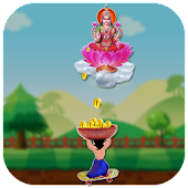 Catch Gold Coins Diwali Game