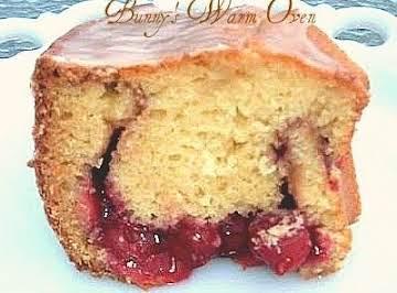 Cherry Cream Coffee Cake