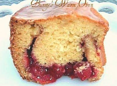 Cherry Cream Coffee Cake Recipe