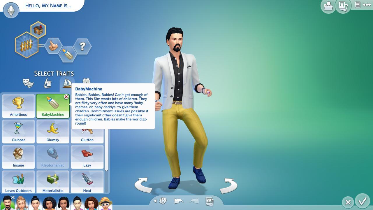 Sims 4 Trait mod - Baby Maker