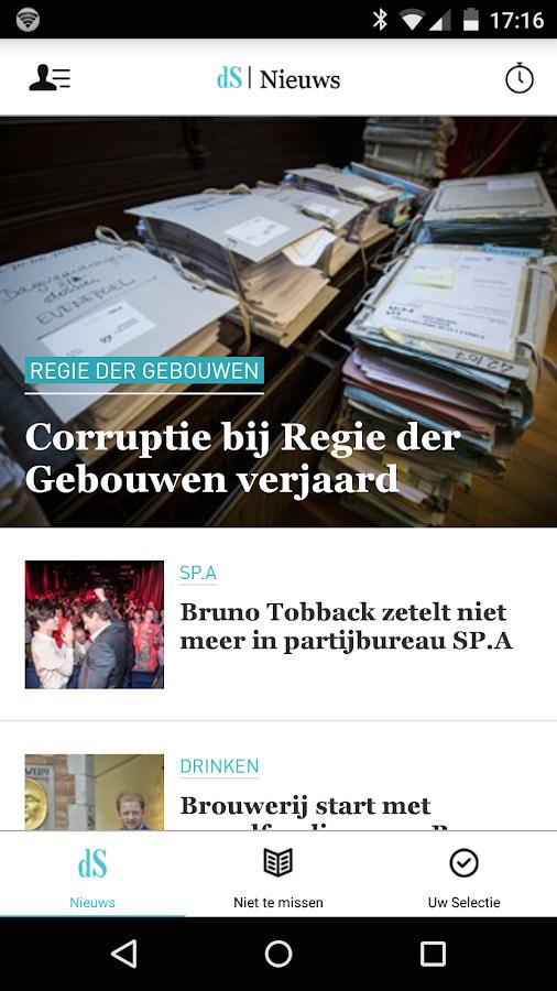 dS Nieuws- screenshot