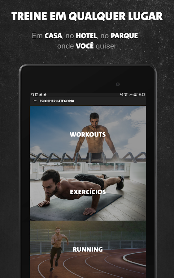 Freeletics Bodyweight: captura de tela