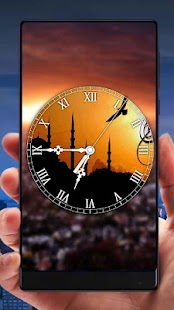 Islamic Analog Clock Live Wallpaper - náhled