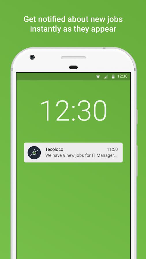 Screenshots of Tecoloco.com - Job Search for iPhone