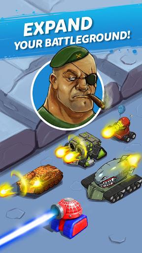 Télécharger Merge Tanks: Funny Spider Tank Awesome Merger mod apk screenshots 6