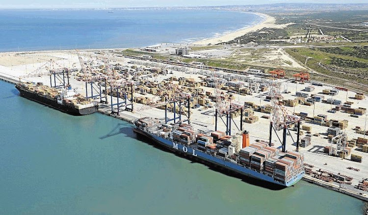 Port Ngqura at Coega. Picture: SUPPLIED
