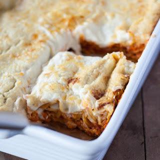 Healthy Lasagna.