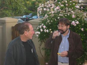 Photo: Professors Louis Narens and Michael Birnbaum
