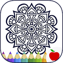 Adult Coloring Books: Mandalas icon