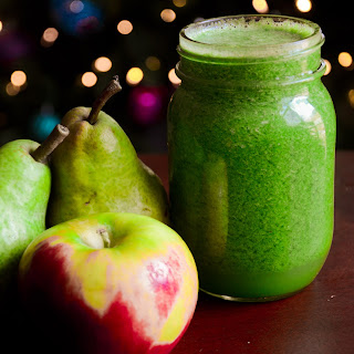 Glowing Green Juice.