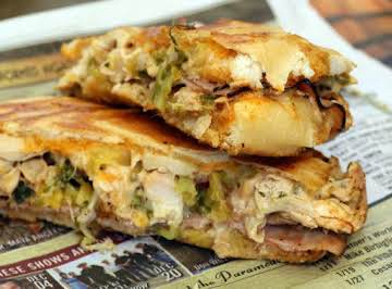 Outrageous Cuban Sandwich with Mojo Sauce