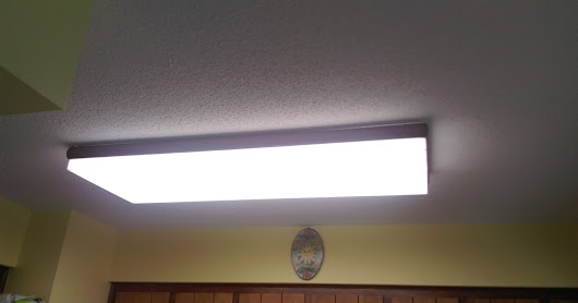 Kitchen Light Makeover