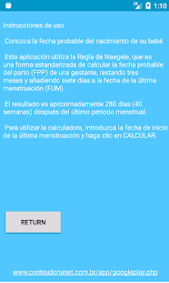 924d0e976 Calculadora Fecha de Parto - Apps en Google Play