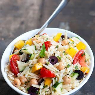 Garden Greek Orzo Salad