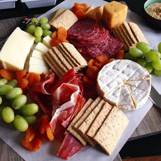 The Charcuterie and Cheese Board.