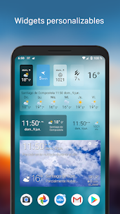 Tiempo y widget - Weawow Screenshot