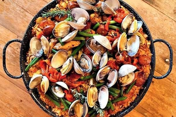 Mixed Seafood Paella Recipe