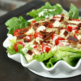 BLT Salad with Toasted Quinoa