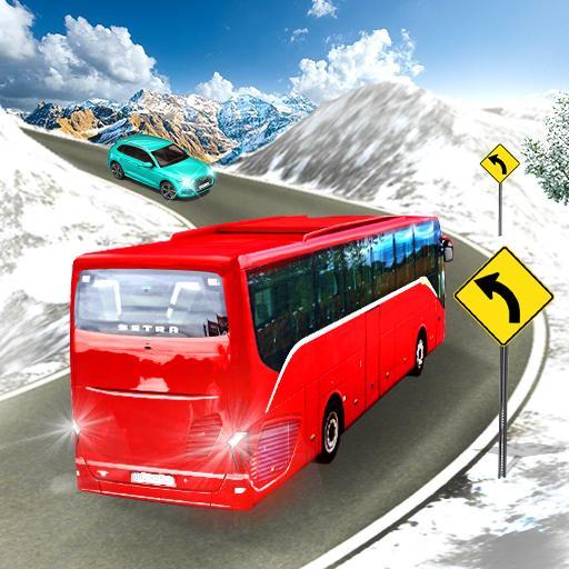 Bus Driver 3D: Snow Hill Climb