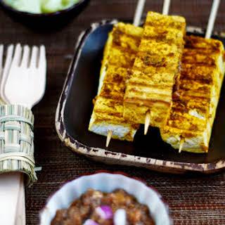 Tofu Satay.