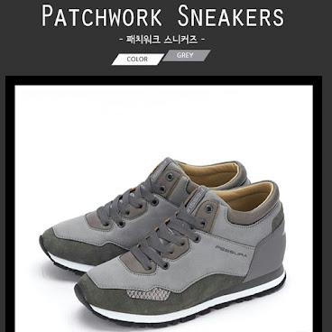 韓國代購FESSURA品牌最新款內增高鞋