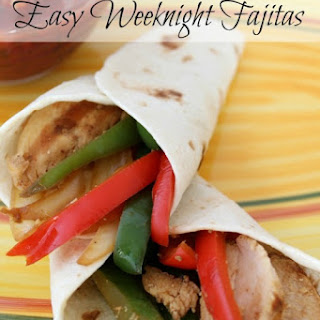 Easy Weeknight Chicken Fajitas