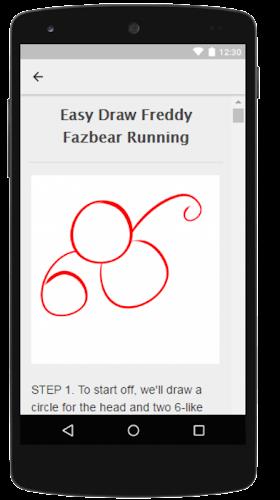 Easy Draw Freddy FNAF APK | APKPure ai
