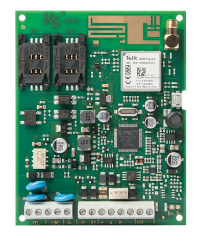 Larmsändare gemino expanderbar GSM/GPRS kretskort