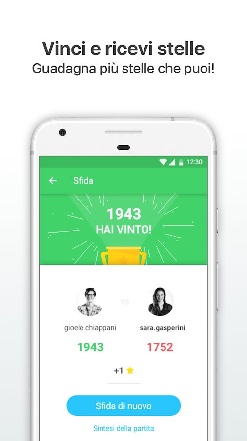 Sfida l'italiano- screenshot