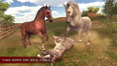 Download Virtual Wild Horse Family Sim : Animal Horse Games for