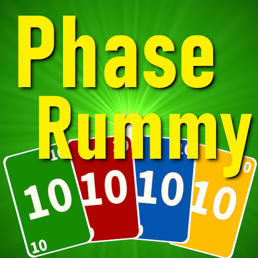 Phase Rummy 2: card game with 10 phases
