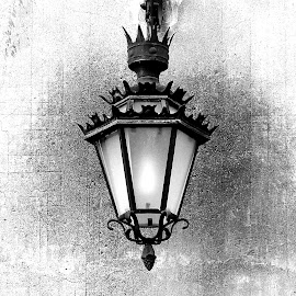 Light Fixture II by Joatan Berbel - Black & White Objects & Still Life ( fixture, artistic objects, lightning, spain, granada, andalucia, culture, old town, style, lighting )