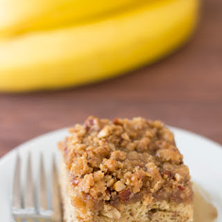 Maple Banana Coffee Cake