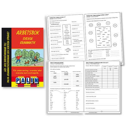 Svensk grammatik- arbetsbok - 7762-116-4