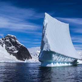 Creative Iceberg  by Jean-Marc Landry - Landscapes Caves & Formations ( iceberg, antarctique,  )