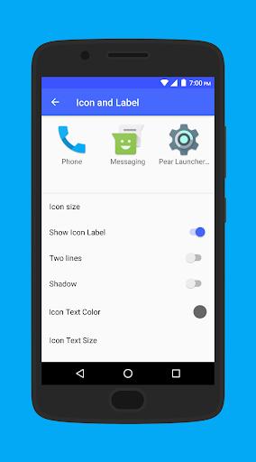 Pear Launcher 1.4.41 screenshots 7