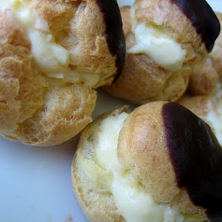 Eclairs and Cream Puffs.