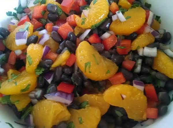Black Bean And Mandarin Orange Salad Recipe