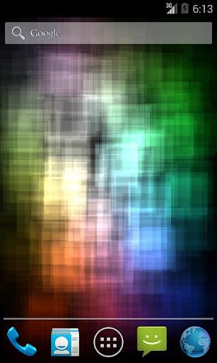 ミックス色のプロライブ壁紙