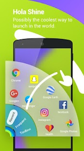 Hola Launcher- Theme,Wallpaper- screenshot thumbnail