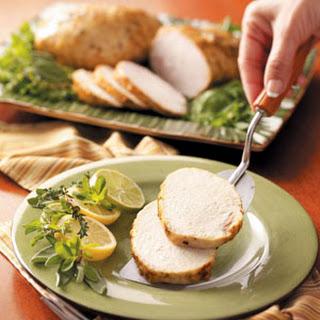 Slow-Cooked Herbed Turkey.
